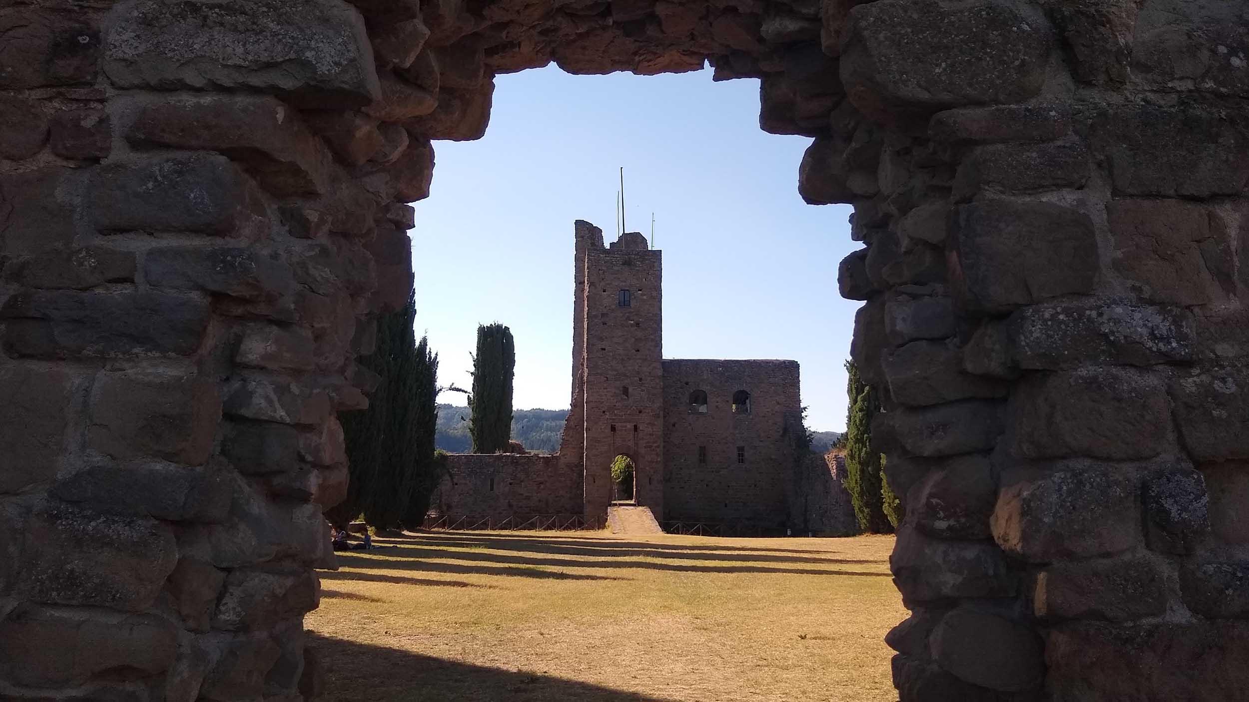 Cammino di Dante Castello di Romena