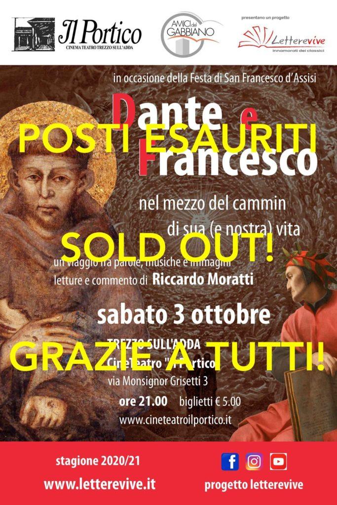 Sold Out Dante e Francesco Letterevive
