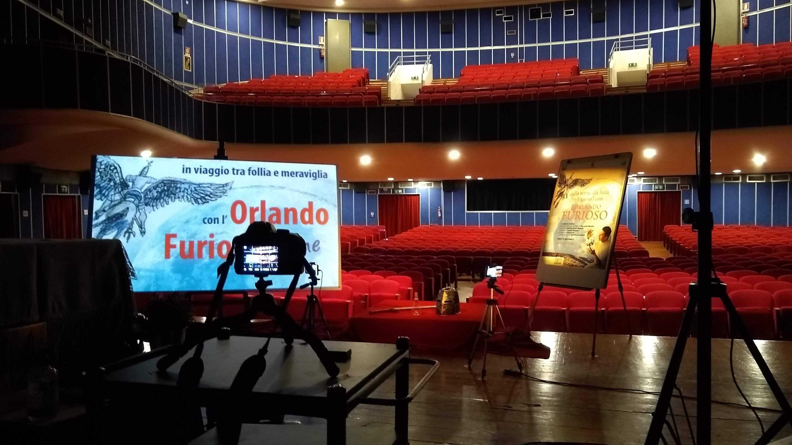 Set Orlando Furioso Letterevive Teatro Argentia