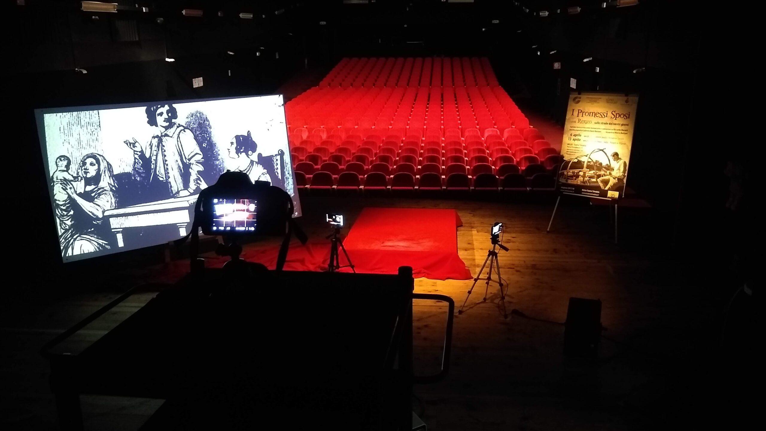 Set Promessi Sposi Letterevive Teatro Trivulzio